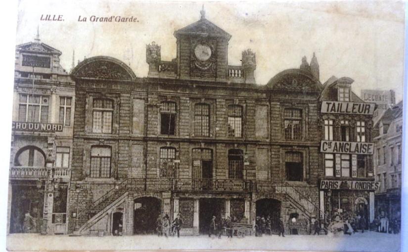 Postkarte, Foto: Lille, La Grand' Garde